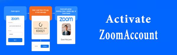 Activate Zoom Account